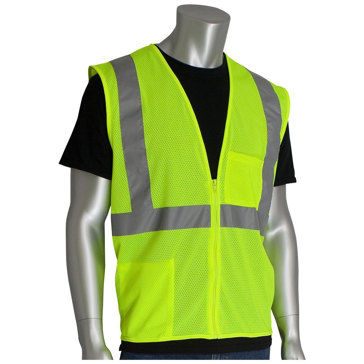 Hi-Vis Safety Vest Reflective ANSI Class 2 for Construction